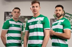 Shamrock Rovers back in Umbro for new home kit