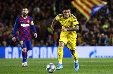 'For us, the case is closed' - Sancho dropped by Dortmund for disciplinary reasons