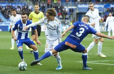 Carvajal the hero as Los Blancos go top of La Liga