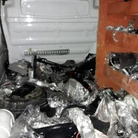 Man arrested after suspected stolen car parts worth over €30k seized by gardaí