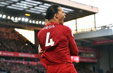 Van Dijk at the double but Alisson sent off as Liverpool go 11 points clear at top of Premier League