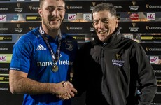 'Excellent' Connors seizing his chance in Leinster back row