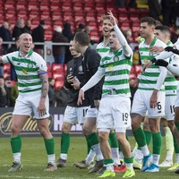 Celtic and Rangers level once again at top after big wins