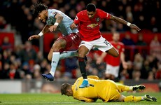 Mings equaliser sees Villa depart Old Trafford with a point