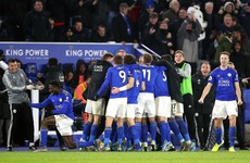 Iheanacho strikes deep into stoppage time as Leicester stay in touch with Liverpool