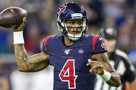 Houston Texans quarterback Deshaun Watson.