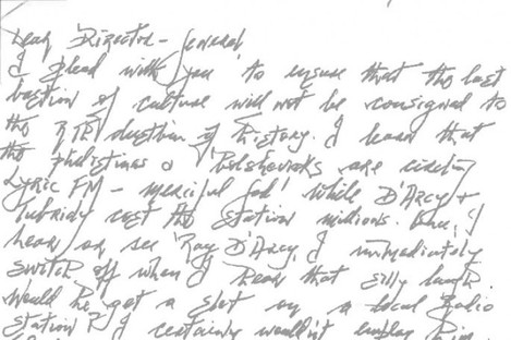 """A letter from a """"disenchanted"""" Lyric listener."""