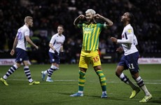 Austin sends West Brom back to top of Championship