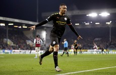 Brady scores first Premier League goal in 2 years, but Man City win to move within 8 points of Liverpool