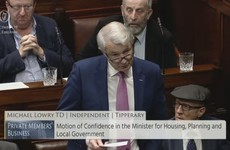 Michael Lowry says 'slanderous, vicious, malicious, vindictive, false allegations' were made in Dáil about his tax affairs