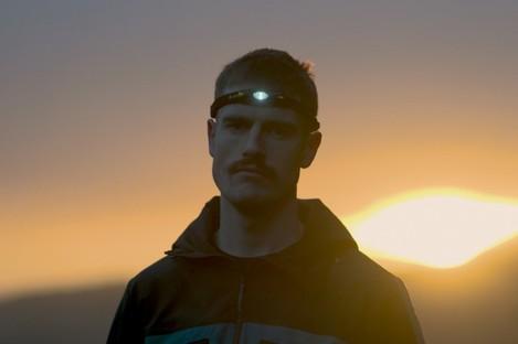 Marathon man: Conor O'Keeffe.