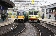 Trains suspended in Dublin after truck hits bridge