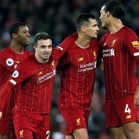 Liverpool put 5 past Everton and go 32 Premier League games unbeaten