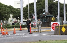 Gunman kills two people in attack at US base at Hawaii's Pearl Harbor