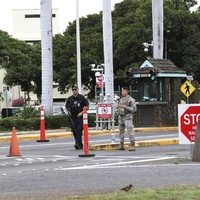 Gunman kills two people in attack at US base at Hawaii's Pearl Harbor