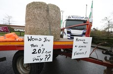Explainer: Why are farmers blockading a major Aldi distribution centre in Naas?