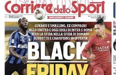 Italian newspaper criticised for 'Black Friday' headline about Lukaku and Smalling