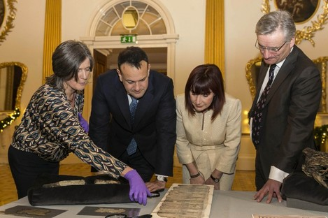 The Beyond 2022 research project re-creates, through virtual reality, the archival collections that were lost in the Dublin Four Courts blaze nearly a century ago.
