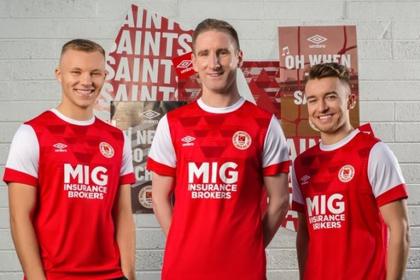 St Patrick's Athletic release new home jersey ahead of 2020 campaign