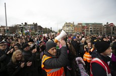 'Shame on Leo': Thousands march through Dublin and Cork against homelessness