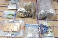 Man arrested after €45k worth of drugs, gold bars and alcohol found in Dublin