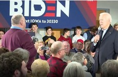 'You're a damn liar, man': Joe Biden lashes out at Iowa voter who raises son's business activities