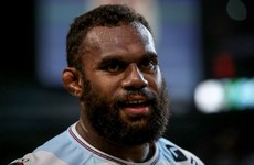 Racing 92 have sacked Fiji international Leone Nakarawa