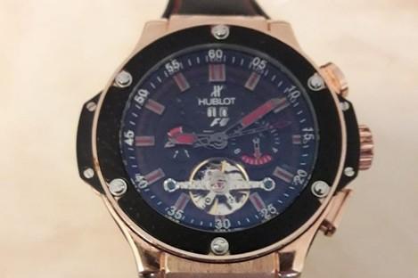 The Hublot watch seized by gardaí