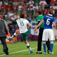 In pictures: Ireland end Euro 2012 on a low