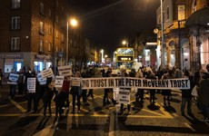 'No more hostels, build more homes': Aungier Street reopens after housing protest