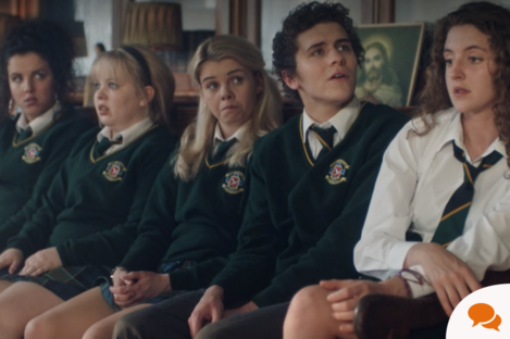 You might recognise some Ulster Scots words from TV show Derry Girls.