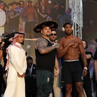 Joshua sheds weight as Ruiz piles on ahead of controversial rematch in Saudi Arabia