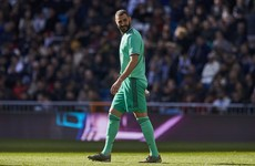 Real Madrid wear all-green kit in support of Climate Summit, as Benzema delivers again