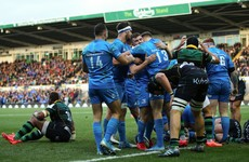 Cullen reaches for cold water as Leinster hit 'Test-match level'