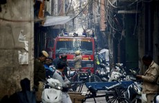 At least 43 people dead in New Delhi garment factory fire