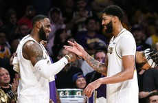 Davis scores season-high 50 points as Lakers beat Timberwolves