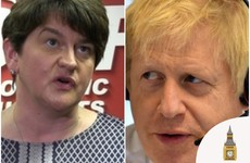 Arlene Foster says Boris Johnson 'broke his word' on preventing an Irish Sea border