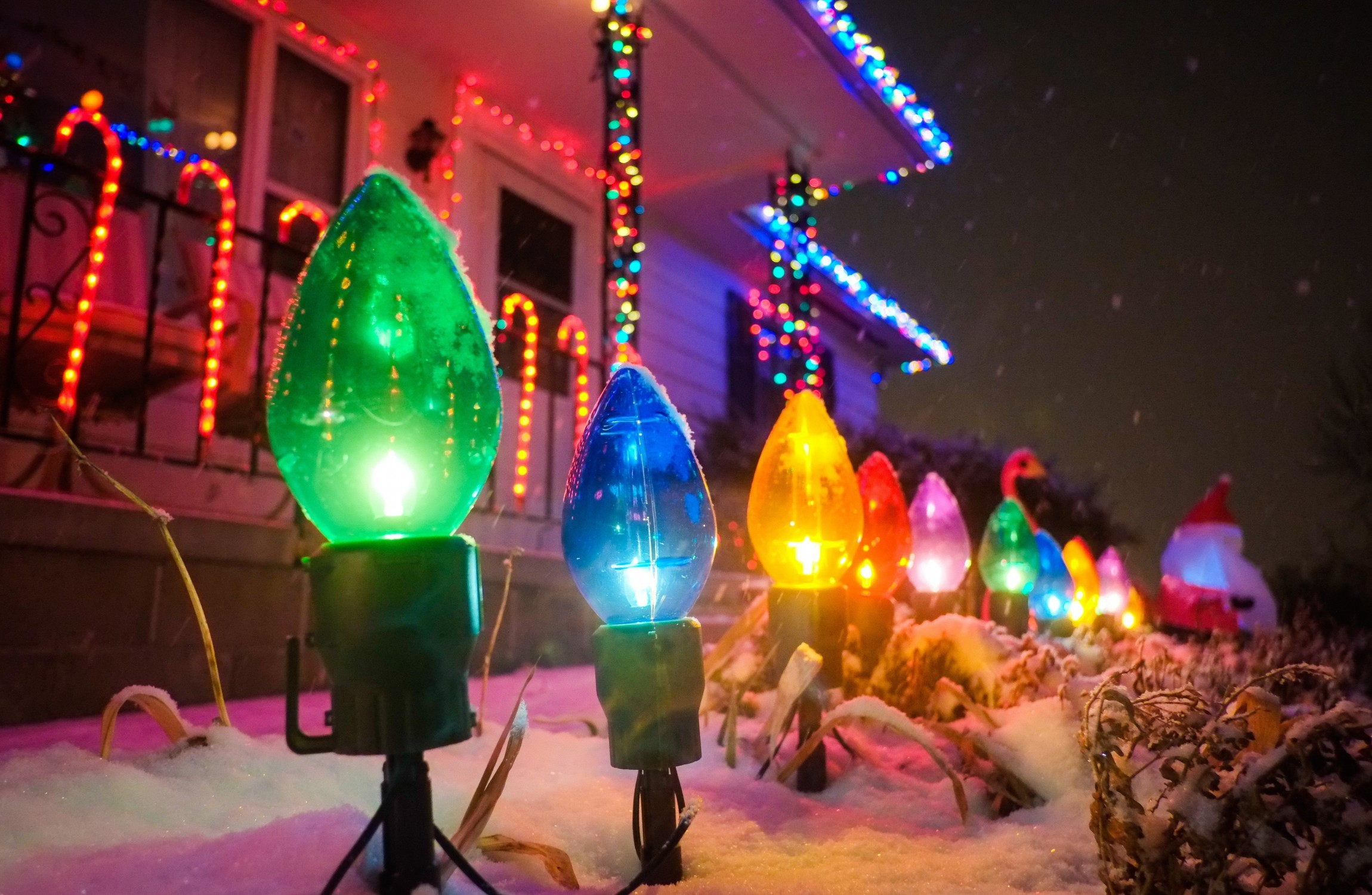Help How Do I Set Up Outdoor Christmas Lights Without Disaster