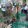 Mermaids at Leinster House as protest calls for end to overfishing
