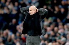 Guardiola: City now 'not able to compete' with Europe's top teams
