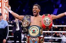 'It's a life of discipline, dedication and f*****g headaches' - Anthony Joshua