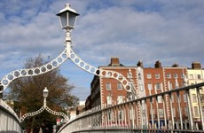 Coats on Ha'penny Bridge could save someone's life, says organiser