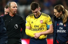 More injury woe for Arsenal's £25 million man