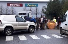 IFA staging latest blockade outside Musgrave distribution centre in Kildare