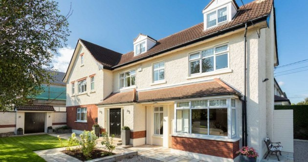 Luxe open-plan home with a south-facing garden in Mount Merrion for €1.6m