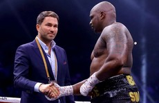 Whyte 'should' face winner of Wilder-Fury following doping clearance