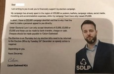 SDLP leader says he's 'disgusted' as fake leaflets asking for donations sent to potential voters
