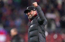 Klopp in disbelief at Salah's goal in crucial win over Salzburg