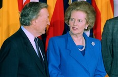Thatcher told Haughey that Ireland's refusal to extradite IRA priest was 'a major setback'