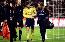 Arsenal defender Tierney suffers dislocated shoulder